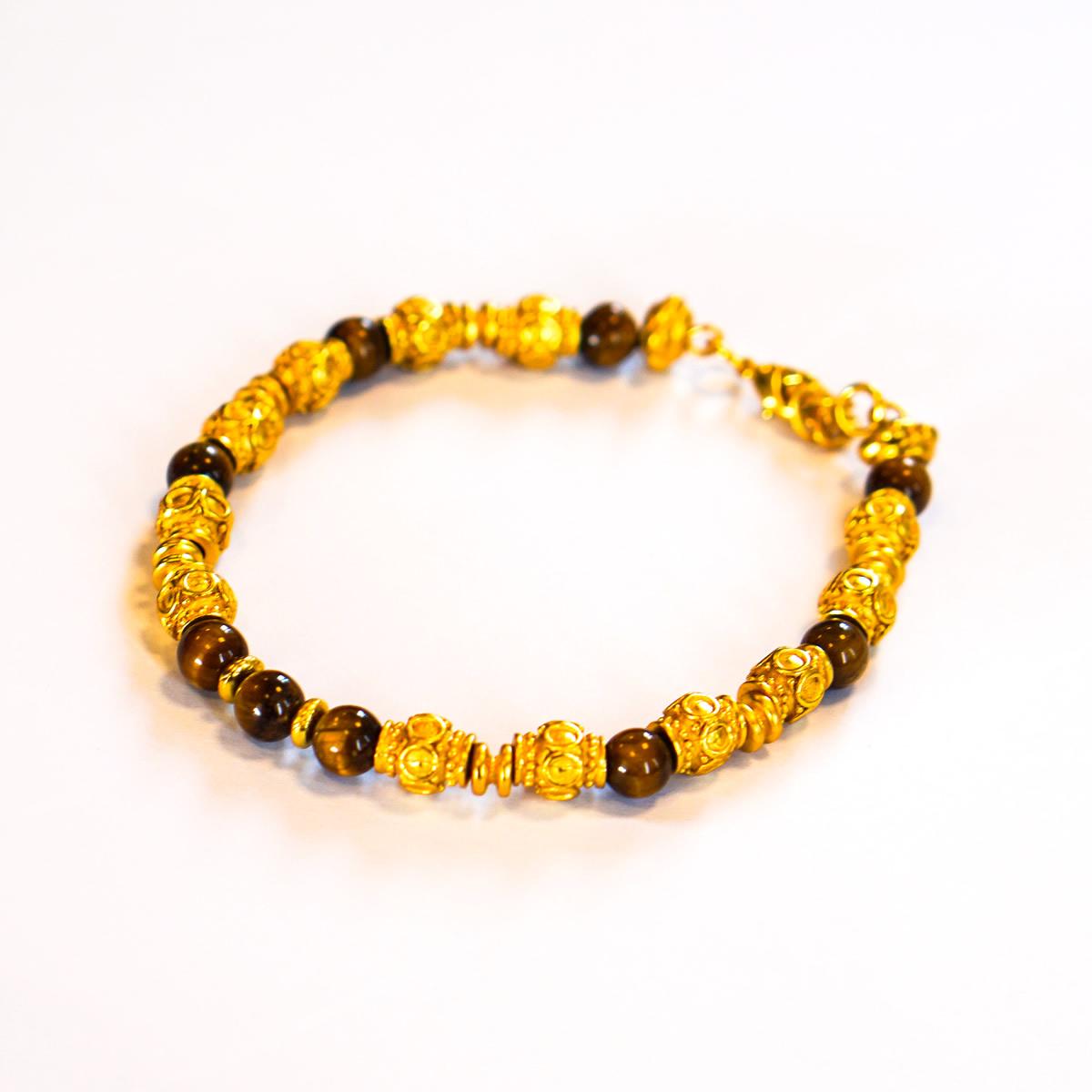 Pre Columbian Tiger Eye Bracelet