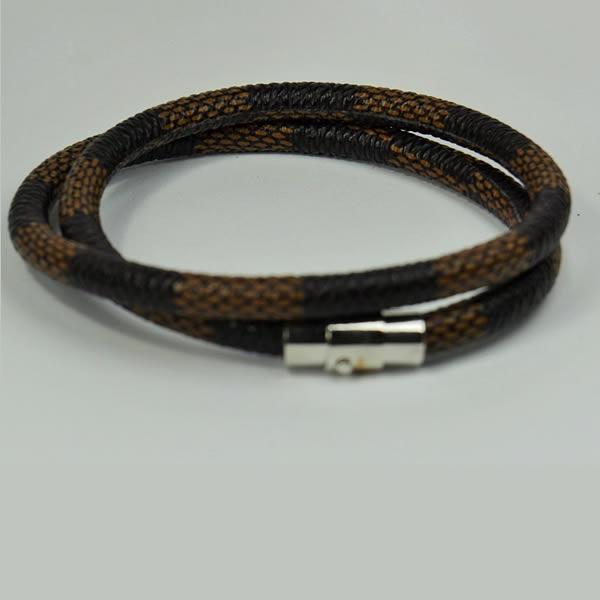 Snake Print LEATHER Bracelet