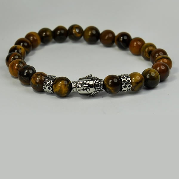 Men's Tiger Eye Bracelet,