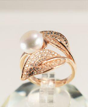 Rose Zilveren ring