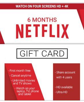 Netflix 4 Screens - HD
