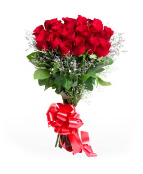 Boeket 20 rode rozen