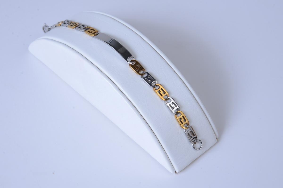 Bracelet Watch Two Tone for Men's